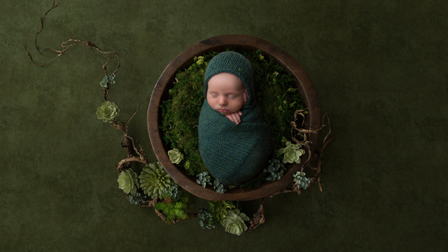 Newborn Session with Thomas